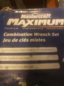 maximum 32-piece combination wrench set  metric and SAE