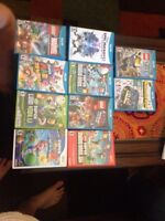 Wii and Wii-U games