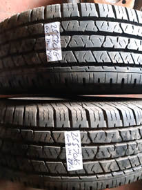 255 70 16 part worn tyres continental all weather matching pair used t