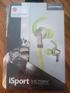 monster isport victory earbuds unopened