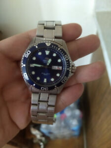 Orient Ray Blue Dial.