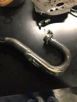 Front pipe yzf 250 2010