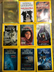 National Geographic Magazine Collection 1960's-2000's