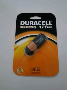 Duracell 128gb memory stick. New