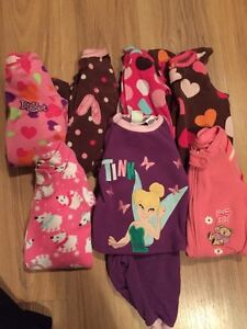Lot pyjamas chaud 3 mois fille