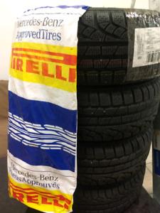 Winter tires 205/50 R 17 Almost brand New Pirelli