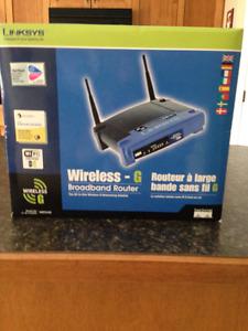 Linksys Wireless Broadband Router 2.4GHz