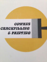 Cowans Crackfilling &Painting