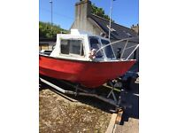 20ft fibreglass boat