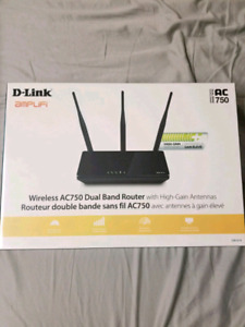 D-Link Wireless AC750 Dual Band Router (unopened)