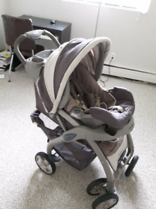 Eddie Bauer Baby Stroller, Car Seat & Carry (Cleaned/Hygienic)