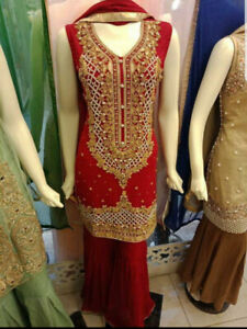 Pakistani New Collection 3 Piece Dresses Sale