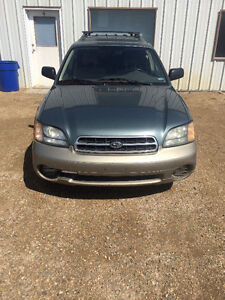 2002 Subaru Outback w/All Weather Pkg