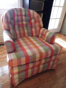 Comfortable High-End Made in USA Chair from Ridpath's