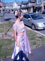 Lilac Purple and Cinderella Blue Sarees perfect for Wedding