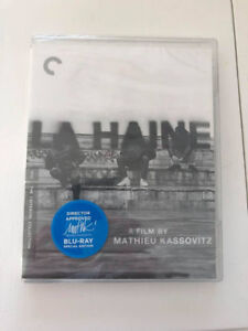 La Haine Criterion Edition Blu-Ray (Sealed)  NEUF!!!