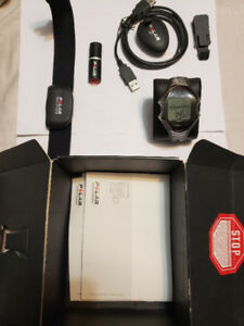 Heart Rate Monitor (RS800CX)   GPS