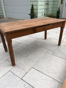 Rustic 3 Plank Pine Table