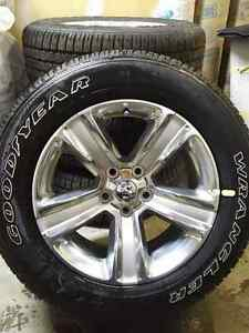 4 Brand new Dodge 1500 20 inch rims and tires Edmonton Edmonton Area image 2