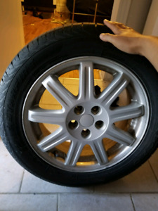 "16"" RIMS AND TIRES! CHEAP SET OF 4"