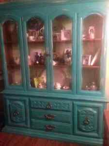 Beautiful Teal Cabinet St. John's Newfoundland image 1