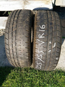 2 pneus d'été 16 pouces Yokohama AVS 205/55VR16