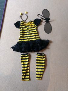 Bumble bee halloween costumes 4 to 6 years small