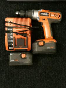 Ridgid 18.0v Hammer Drill