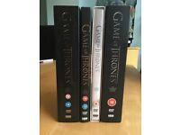 Game of Thrones Seasons 1-4