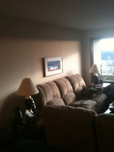 River valley view downtown condo