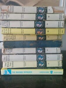 Large Collection of Vintage Nancy Drew books