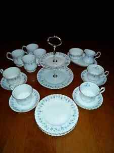 Memory Lane 4 Place Tea Set