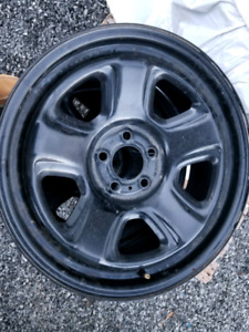 Steel wheels for snow tires