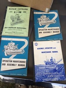 Vintage machinery manuals