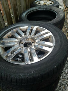 LIN NAVIGATOR RIMS AND TIRES