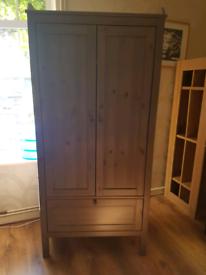 Ikea Childrens/Nursery Sundvik Wardrobe in Grey/Brown. Great Condition