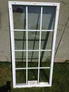 WINDOW INSERT FOR STEEL DOOR