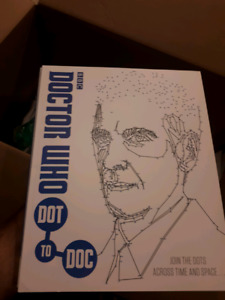 Brand new doctor who connect the dots activity book