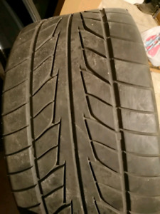 """Pair of Nitto 555 Extreme ZR Tires 20"""" Matching set"""