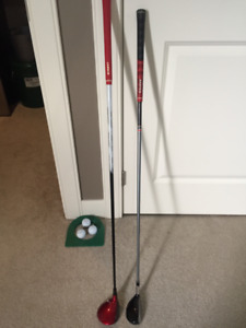 Nike VRS Covert Tour 5-wood + Tour Edge Exotics 4-hybrid