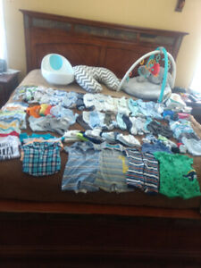 Baby Clothes and other items - New Born and 3 months