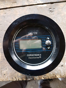 Depth sounder head unit