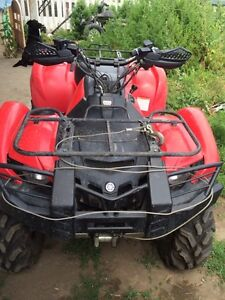 2007 Yamaha grizzly 700 trade for dirtbike