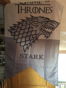Game Of Thrones-Stark Familie Banner Flag 3X5