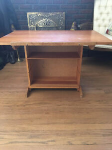 Desk/Drafting Table/Bookcase