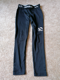 Sondico under trousers / baselayer sports trousers Age 7-8 years