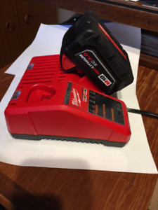 Milwaukee M18 Battery and charger