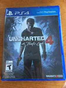 Uncharted 4 PS4 *Unopened*