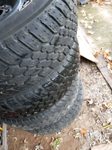 4 good tires forsale with rims