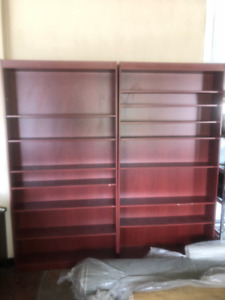 OFFICE BOOKSHELVES / ETAGERES COMMERCIAL